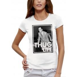 T-shirt CHIRAC THUG LIFE METRO