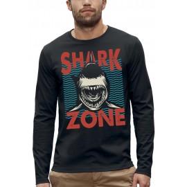 T-shirt ML SHARK ZONE