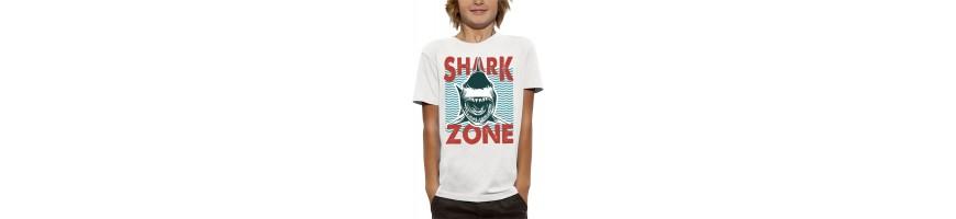 T-shirt SHARK ZONE
