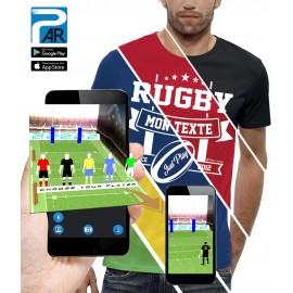 T-shirt 3D RUGBY