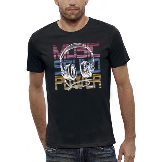T-shirt MUSIC SOUND POWER