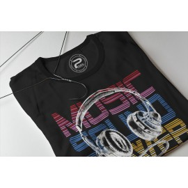 T-shirt MUSIC SOUND POWER