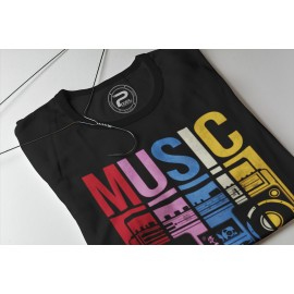 T-shirt ML MUSIC RETRO