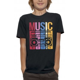 T-shirt MUSIC RETRO