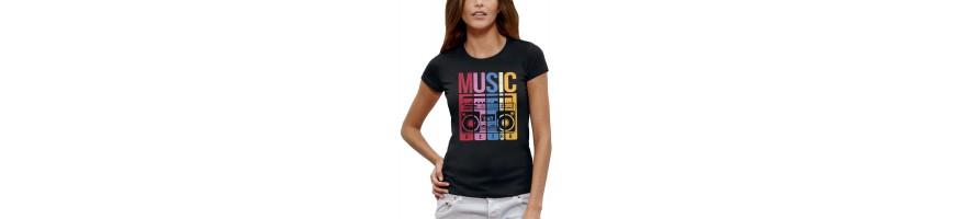T-shirt MUSIC RETRO