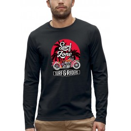 T-shirt ML SURF ET RIDERS