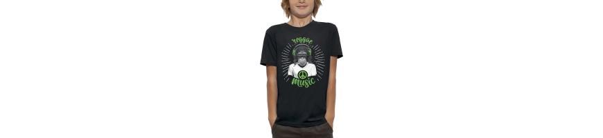 T-shirt SINGE REGGAE MUSIC