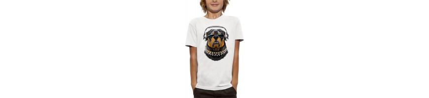 T-shirt ROTTWEILER CASQUE DJ