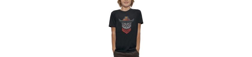 T-shirt CHAT SHERIF