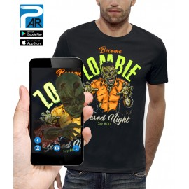 T-shirt 3D BECOME ZOMBIE