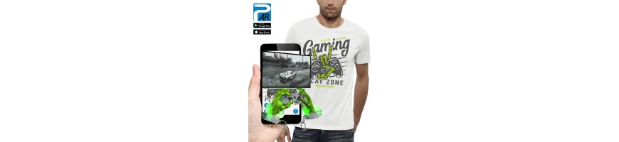 T-shirt 3D MANETTE GAMER