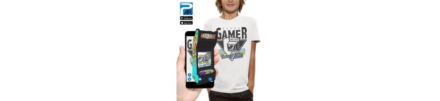 T-shirt 3D RETRO GAMER
