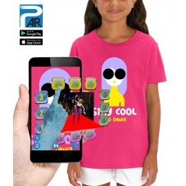 T-shirt 3D STAY COOL AND DANSE