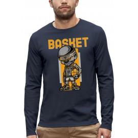 T-shirt ML 3D BASKEBALL
