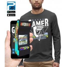 T-shirt ML 3D RETRO GAMER