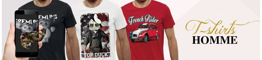 T-shirts manches courtes Homme