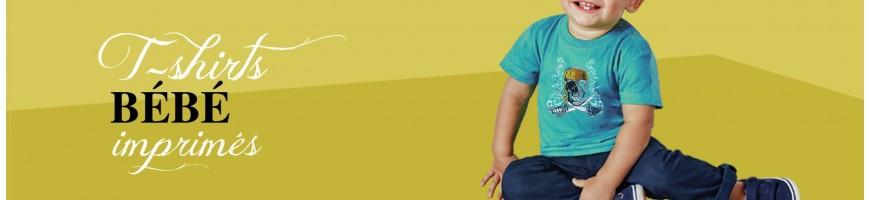 T-shirts Bébé imprimés