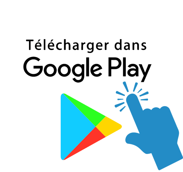 Bouton lien vers android play store