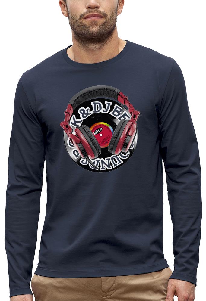 t-shirt manches longues casque dj